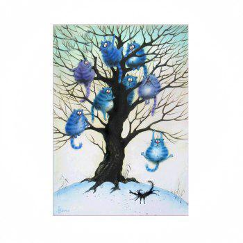 Naiyue 9580 Animals Trees Print Draw Diamond Drawing - COLORMIX COLORMIX