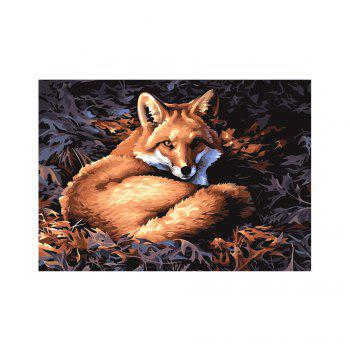 Naiyue 7205 Silver Fox Print Draw Diamond Drawing - COLORMIX COLORMIX