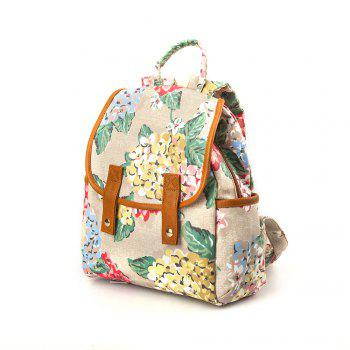 Backpack for Girls Waterproof Backpack for Women Floral Backpack Purse -  IVORY
