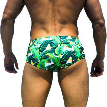 Taddlee New Sexy Men Swimwear Bikini Brief Swim Wear Swimsuits Man Swimming Boxers Trunks Surf Boardshorts Low Waist - GREEN GREEN