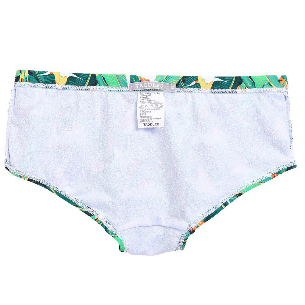 Taddlee New Sexy Hommes Maillots de Bain Bikini Slip Maillots de Bain Maillots de bain Homme Natation Boxers Trunks Surf Boardshorts Basse Taille - Vert L