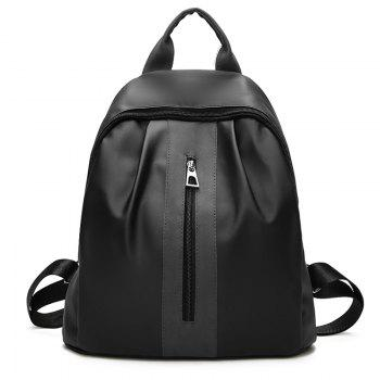 The New Double Shoulder Bag Is The Style of Fashion College Feng Shuang Bag Travel Bag - BLACK BLACK
