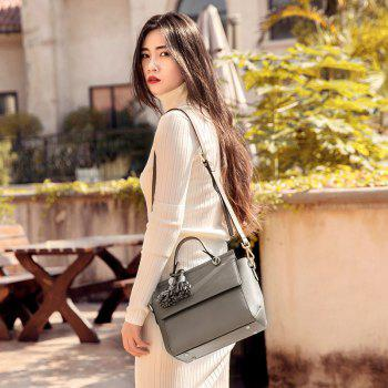 SITIYA Top Handle Tassel Small Style Women Leather Tote Purse Shoulder Bag -  BRONZED