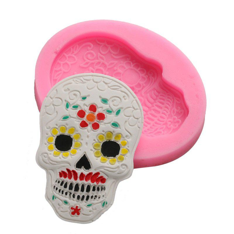 Halloween Silicone Cake Decoration Mold Dessert Chocolates Cake Decorating Tools Baking Tools Silicone Mold plastic standing human skeleton life size for horror hunted house halloween decoration