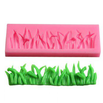 Facemile Silicone Grasses Lace Shape Pudding Muffin Cake Jelly Mold Fondant Wedding Bakeware Cake Decoration Tool 50-400 - PINK PINK