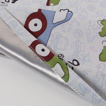 Grommet Top Cartoon Blackout Car Curtains for Family Children Bedroom Living Room - COLORMIX 72