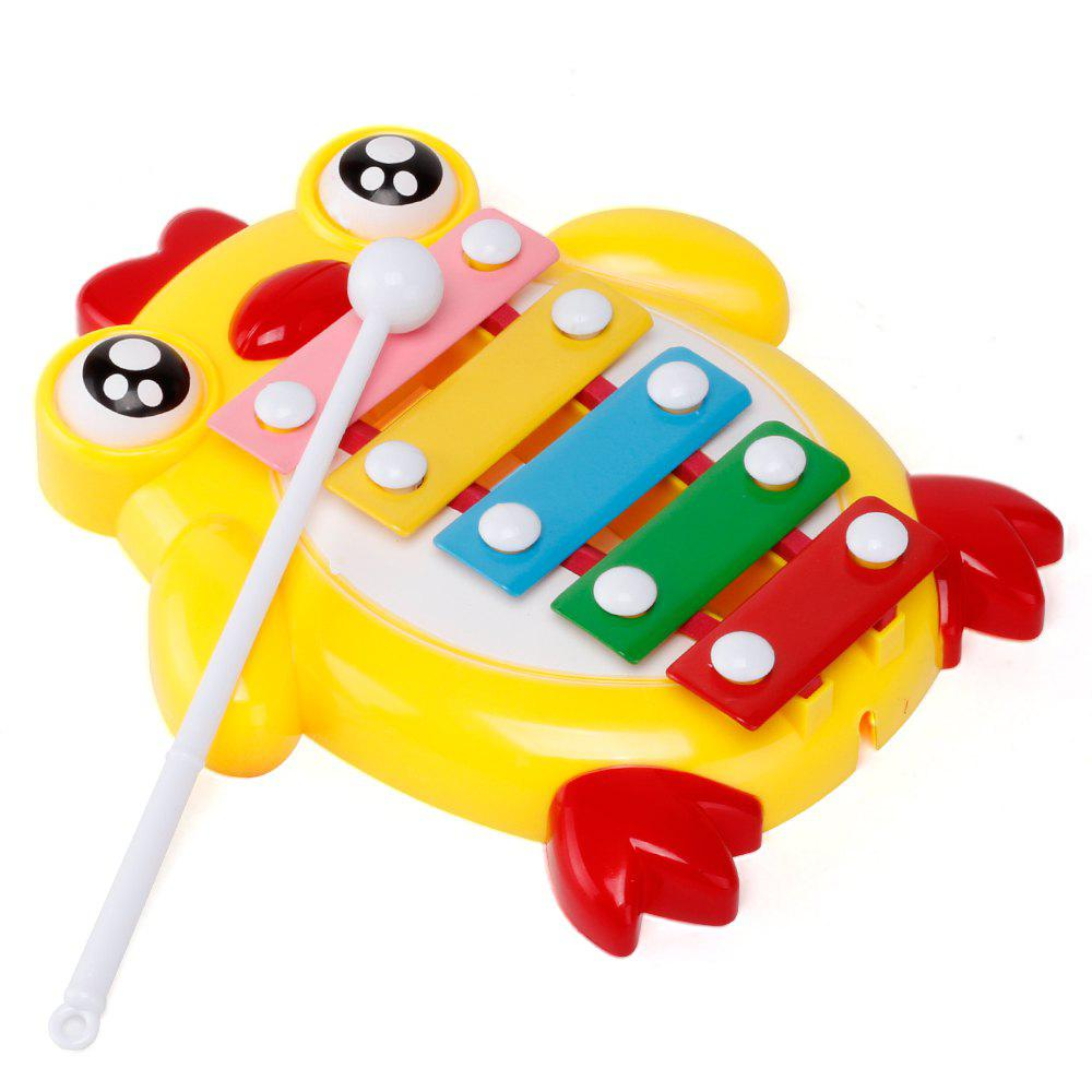 Children Percussion Baby Educational Chicken Hand Knock Early Childhood Music Eight Piano - DAISY
