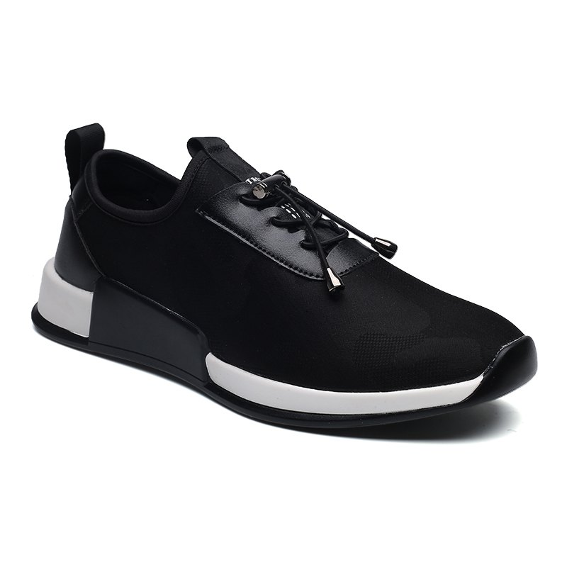 2018 comfortable slip on athletic shoes for black in