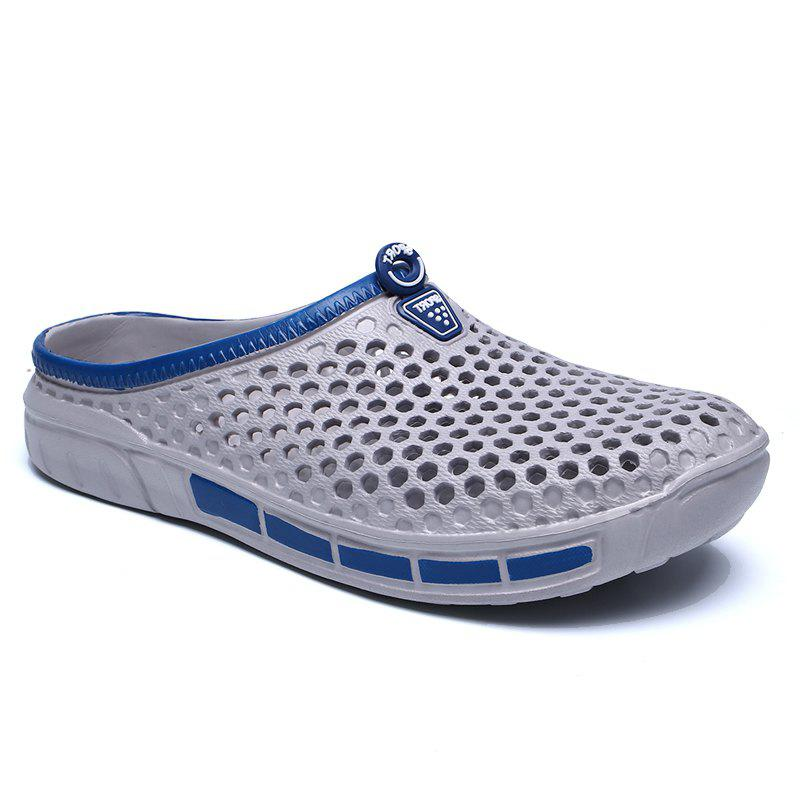 Male Hollow out Breathable Casual Beach Slippers