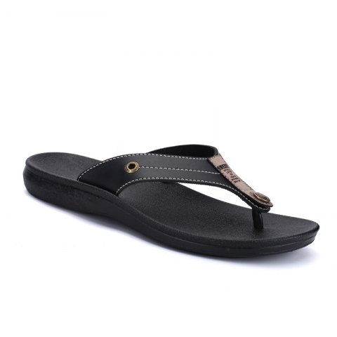 Summer Fashion Casual Flip-Flops - BLACK 44