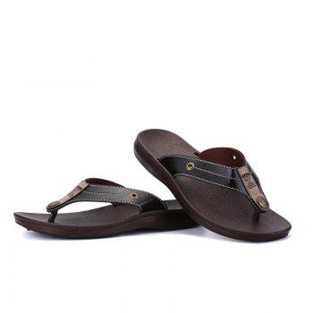 Summer Fashion Casual Flip-Flops - TAN TAN