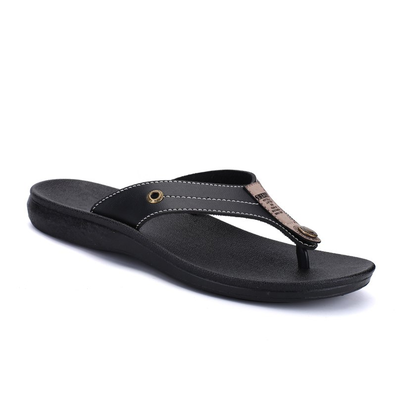 Summer Fashion Casual Flip-Flops - BLACK 40