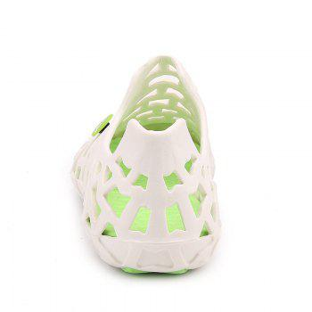 Hot Style Lovers Cave Waterproof Beach Sandals - WHITE / GREEN WHITE / GREEN