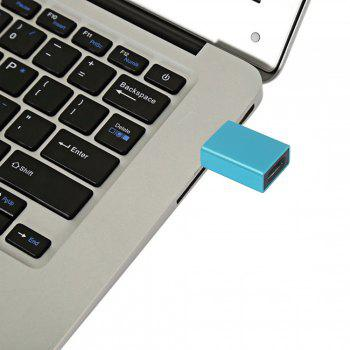 Minismile Aluminium alloy USB 3.1 Type C Female to USB 3.0 A Male Data Charging Extension Adapter for Phone / MACBOOK - BLUE