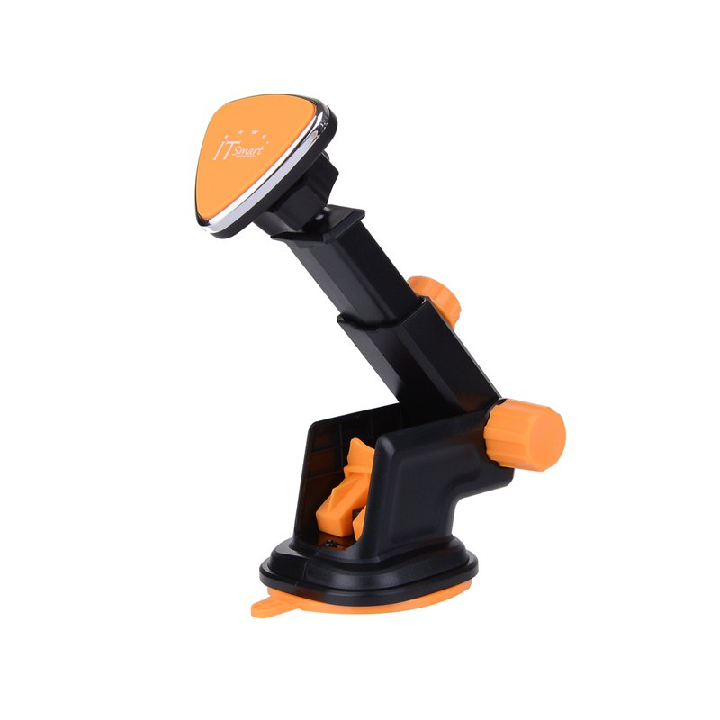ITsmart Vehicle Mounted Magnetic Adsorption Cell Phone Bracket - ORANGE