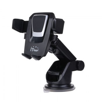 ITsmart Fixed Type Vihicle Mobile Phone Bracket - BLACK BLACK