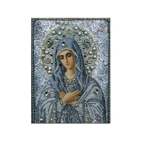 Naiyue J-15 Notre Dame Print Draw Diamond Drawing - BLUE