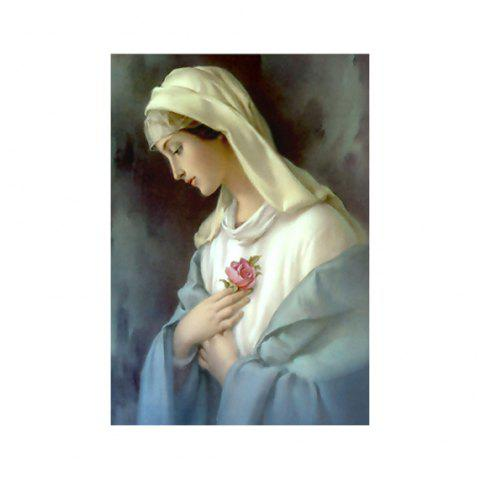 Naiyue K015 Virgin Mary Print Draw Diamond Drawing - COLORMIX