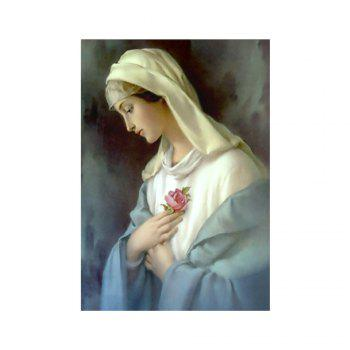 Naiyue K015 Virgin Mary Print Draw Diamond Drawing - COLORMIX COLORMIX