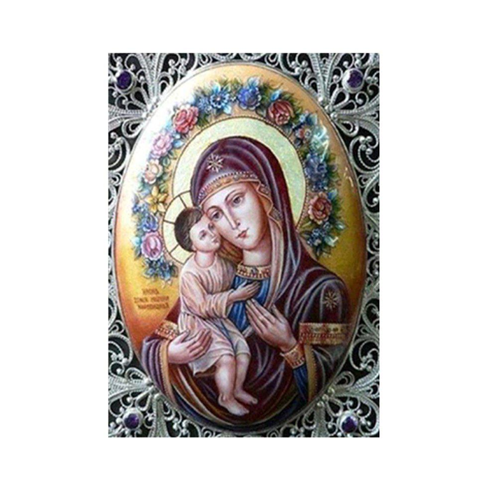 Naiyue 9692 Religious Print Draw Diamond Drawing - COLORMIX