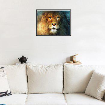 Naiyue 9460 Lion Print Draw Diamond Drawing - COLORMIX