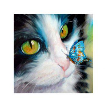 Naiyue 9526 Butterfly Cats Print Draw Diamond Drawing - COLORMIX COLORMIX