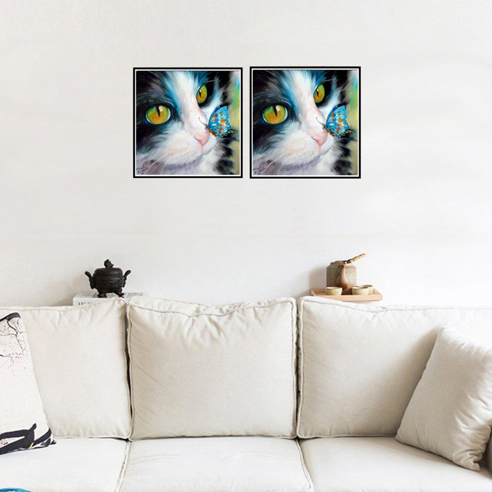 Naiyue 9526 Butterfly Cats Print Draw Diamond Drawing - COLORMIX