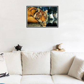 Naiyue 7052 Acacia Tiger Print Draw Diamond Drawing -  COLORMIX