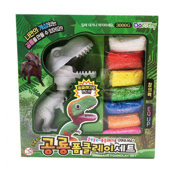 Colorful Kid Modeling Clay DIY 3D Dinosaur Toy - COLORMIX
