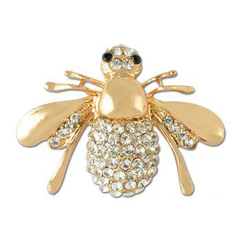 Crystal Lovely Bee Brooch for Woman - GOLDEN GOLDEN