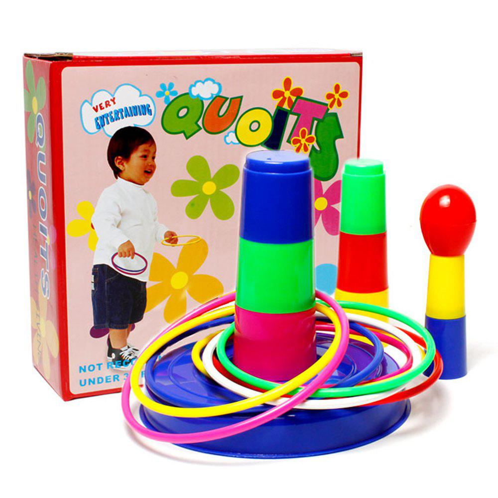 Children Pitch Circle Ring Exercise Educational Toys - COLORMIX