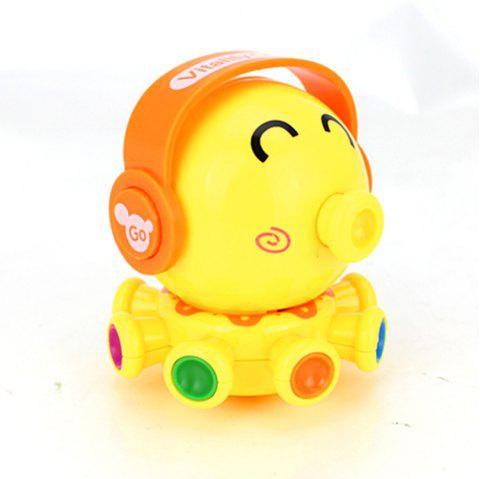 Wind Up Small Toys Interest Funny Octopus - YELLOW
