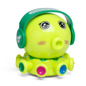 Wind Up Small Toys Interest Funny Octopus - GREEN GREEN