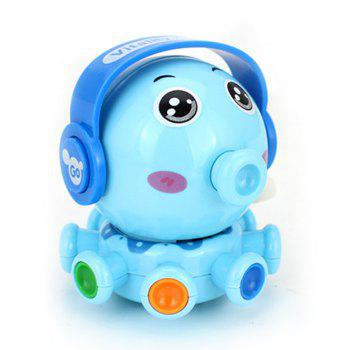 Wind Up Small Toys Interest Funny Octopus - BLUE BLUE