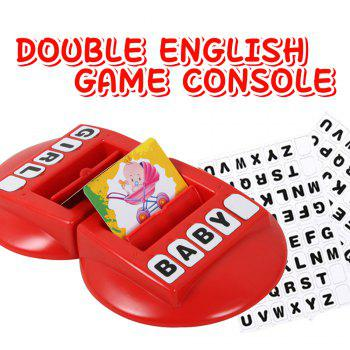 Children Words Learning Machine with English Word Memory Parent-child Interactive Toys - RED