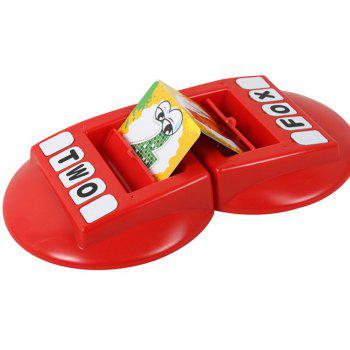 Children Words Learning Machine with English Word Memory Parent-child Interactive Toys - RED RED