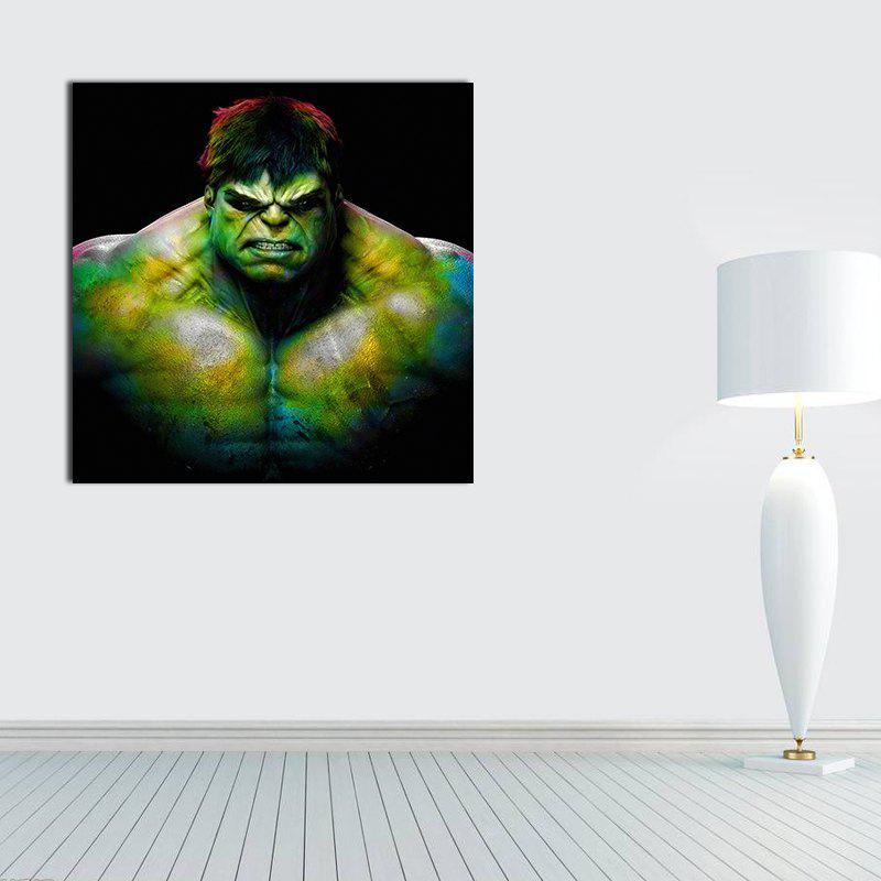 Modern Canvas Print of Hulk Frameless Home Wall Decoration - COLORFUL 12 X 12 INCH (30CM X 30CM)