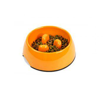 Lovoyager DB-05B Pet Supplies Mei - Ware Food Bowl - ORANGE ORANGE