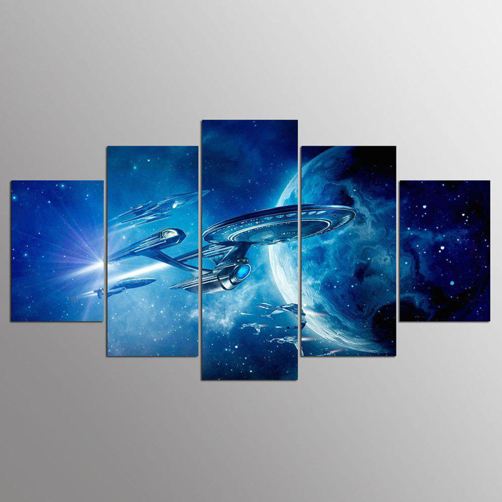 YSDAFEN 5 Pieces Set HD Spray Space Home Decoration Poster Canvas Paintings - COLORMIX 30X40CMX2+30X60CMX2+30X80CMX1(12X16INCHX2+12X24INC