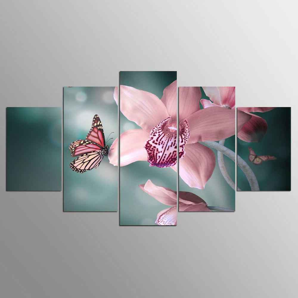 YSDAFEN 5 Pieces Canvas Prints Modular Pictures Wall Art For Living Room Home Decoracion - COLORMIX 30X40CMX2+30X60CMX2+30X80CMX1(12X16INCHX2+12X24INC