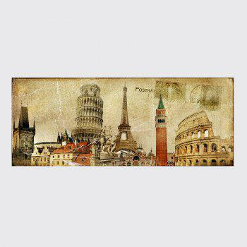 QiaoJiaHuaYuan No Frame Canvas Europe Card Room Sofa Background Decoration Hangs A Picture - COLORMIX COLORMIX