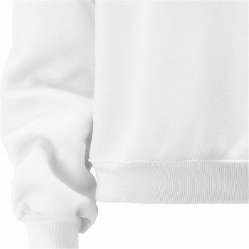 Women's Fashion Large Size Loose Long-Sleeved Plus Cashmere Hoodies - WHITE XL