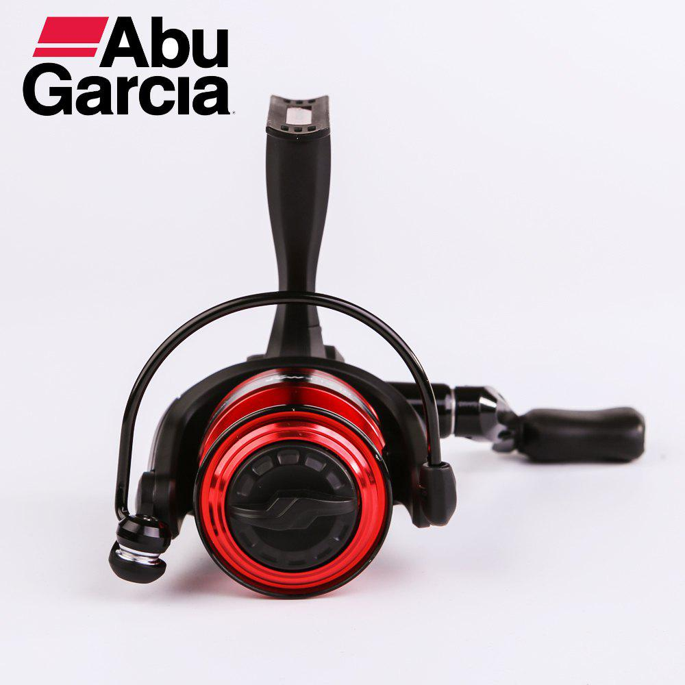 Abu Garcia Black Max 30 High Value 3+1BB Exchangeable Handle 14lb Carbon Fiber Max Drag Spinning Fishing Reel - BLACK/RED