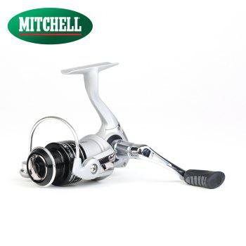 Abu Garcia MITCHELL AVOCET High Value 7+1 Ball Bearing 18lb Carbon Fiber Max Drag Freshwater Spinning Fishing Reel - BLACK/SILVER