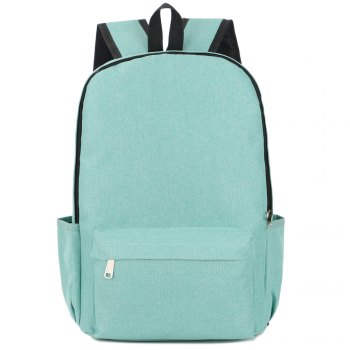 FLAMEHORSE Cross-Border New Backpack College Wind Backpack Simple Laptop Bag - GREEN GREEN