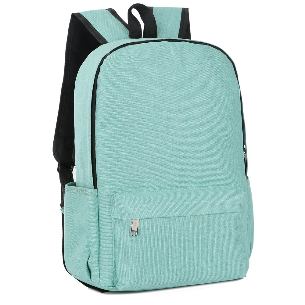 FLAMEHORSE Cross-Border New Backpack College Wind Backpack Simple Laptop Bag - GREEN