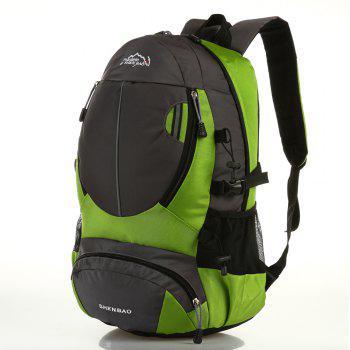 Outdoor Sports Travel Backpack Highcapacity Student Bag - GREEN GREEN