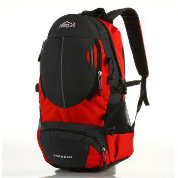 Outdoor Sports Travel Backpack Highcapacity Student Bag - RED RED