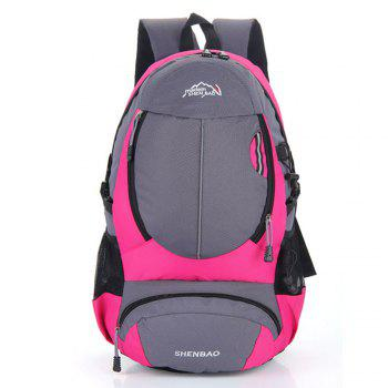Outdoor Sports Travel Backpack Highcapacity Student Bag - ROSE RED ROSE RED