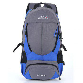 Outdoor Sports Travel Backpack Highcapacity Student Bag - BLUE BLUE